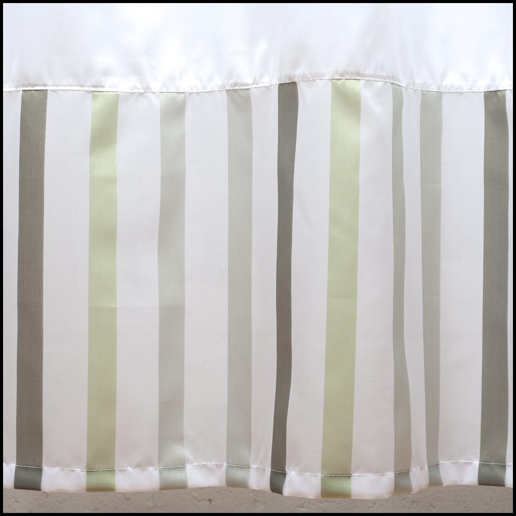 Cortinas De Baño Blancas:Art 10066 Cortina de baño blanca con bajos y volado – verde oliva